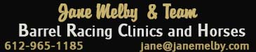 Jane Melby Barrel Horses & Clinics